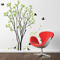 Removable Vinyl Butterfly Tree Wall Sticker Art Decal Mural Home Room Decor DIY
