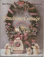 SUNSHINE COTTAGE Decorative Tole Painting 1991 JULIET MARTIN & DEBBIE COOK