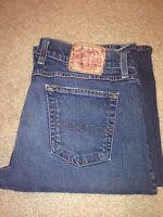 Lucky Brand womens Size 10/30 Mid Rise Flare Regular Length Blue Denim Jeans
