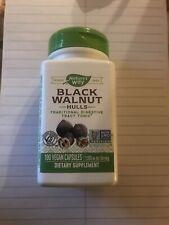 Black Walnut Hulls 500 mg by Nature's Way 100 Capsules