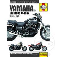 Yamaha VMX-12 1200 Vmax 1999-2000 Haynes Service Repair Manual 4072
