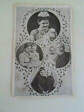 Old Postcard Man+Ladies+Children - Bezoek De Bioscope - Passage 44 On Rear §E967