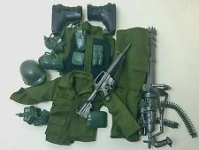 Military Uniform Weapons Accessories for 1/6 Scale Action Figure Gi Joe Lot #246