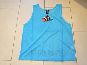 SALE: neues hochwertiges Lauf-Shirt, armlos, hellblau, Gr. Junior, Masita