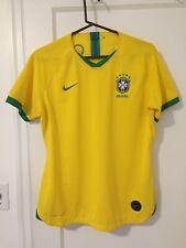 2019 2020 Brazil Womens Soccer Jersey Brasil Large Nike Vaporknit