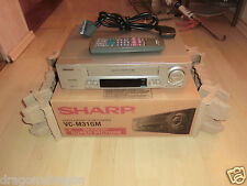Sharp VC-M31GM VHS-Videorecorder in OVP, inkl. Fernbedienung, 2J. Garantie