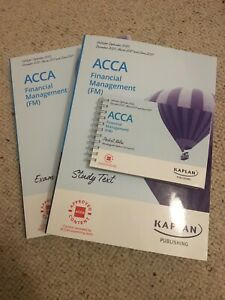 Kaplan ACCA Financial Management (FM) Study Text, Exam Kit, Pocket Notes 2020/21