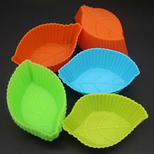 12 Large Leaf leave Shaped Silicone DIY Handmade Soap Mold Chocolate Resin Mould