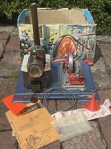 Vintage Wilesco D 8 Model Live Steam Engine Kit