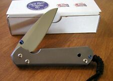 CHRIS REEVE New Large Sebenza 21 Left Hand Pln S35VN Insingo Blade Knife/Knives