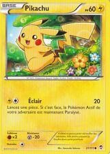 Pikachu - XY03:Poings Furieux - 27/111 - Carte Pokemon Neuve Française