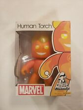 Mighty Muggs Marvel Human Torch Posable Figure 2007