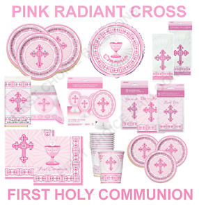 FIRST HOLY COMMUNION - CONFIRMATION - CHRISTENING PARTY- TABLE DECORATIONS CROSS