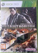 """JEU XBOX 360 """"ASSAULT HORIZON"""" (ACE COMBAT)  NEUF SOUS BLISTER"""