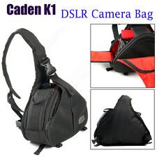 Caden K1 Water Resistance DSLR Camera Bag Case Black Professional Rain Cover NEW