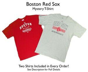 Boston Red Sox Men's Big &Tall 2 SHIRTS! *MYSTERY SHIRT* MLB