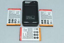 LG G4 Battery x 3 + Wall Charger BL-51YF Optimus H810 H815 H811 LS991 VS986 F500