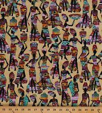 Cotton Kenta African Ladies Women Baskets Africa Fabric Print By Yard D378.27