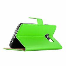 Glossy Mobile Phone Wallet Cases with Kickstand