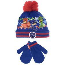 PJ Masks Winter Set | Kids PJ Masks Hat And Gloves | Boys PJ Masks Mittens