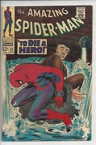 The Amazing Spider-Man #52 VF- (7.0) (Sep 1967) 3rd Kingpin