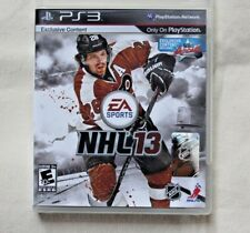 NHL 13 (Sony PlayStation 3, 2012) exclusive content on ps3