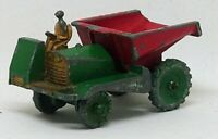 Lesney Matchbox 2a Muir Hill Dumper Green Wheels 1953 - 1957 Early Green Wheels