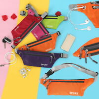 Sport  Zipper Waist Bag Cycling waist Pack Fit Belt Pouch F/1