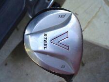 TaylorMade V Steel 18* 5-Wood Golf Club Men's RH R-Flex Steel CP2 Jumbo Grip