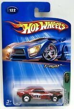 Hot Wheels SUPER Treasure Hunt RED '67 CHEVY CAMARO with REAL RIDERS HTF