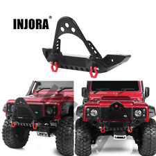 Practical The Choice of RC Toy Lovers YU-NIYUT Metal Rear Bumper with Led Light for 1//10 RC Rock Crawler Axial SCX10 TRX4 D90 90046 90047 Parts Durable
