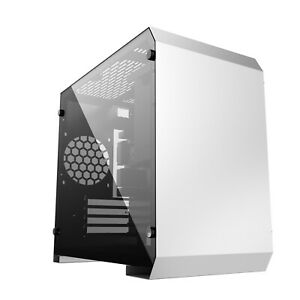 TEMPERED GLASS PC GAMING  CASE MICRO ATX CUBE USB C - IONZ KZ17