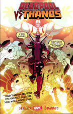 DEADPOOL VS THANOS TPB Marvel Comics Tim Seeley Collects #1-4 TP