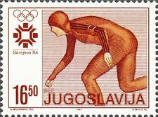 YUGOSLAVIA - 1984 - Olympic Winter Games in Sarajevo - Speed Skating - Sc. #1668