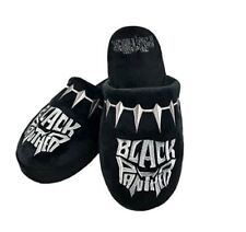 BLACK PANTHER MARVEL COMICS ADULTS MULE SLIPPERS UK 8 - 10