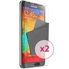 Films de protection anti traces de doigts Clear HD pour Galaxy Note 3 ® x2