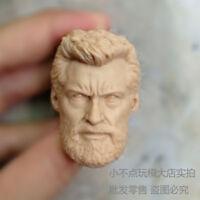High Quality 1/6 Head Sculpt Logan Hugh Jackman old man Wolverine 3 X-Men Blank