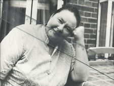 Foto Schauspielerin TANA SCHANZARA - Pressefoto Vintage von 1984  Theater Bochum