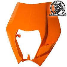 Lampenmaske orange KTM EXC/F/125/200/250/300/400/450/500 (Lampe,Scheinwerfer)