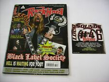 ROCK HARD ITALIA - OTTOBRE 2006 - BLACK LABEL SOCIETY - CON CD ALLEGATO