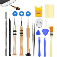 15Pcs Repair Tools Kit Opening Pray Screwdrivers Set for iPhone X 8 7 6 5S iPad