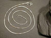 Hübsche 835 Silber Kette Dünne Venezianerkette Zart Filigran Unisex Damen Herren