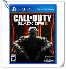 PS4 Call of Duty Black Ops III 中英文版 SONY PLAYSTATION Games Activision Action