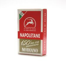 Games Modiano Napoletane 150th Anniversary Cards Red