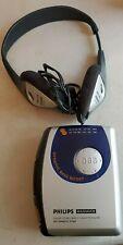 Vtg Philips Magnavox Aq6581 Stereo Radio Cassette Player Dbb Headphones Ay3640