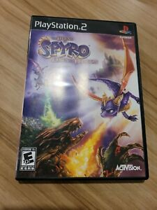 Legend of Spyro: Dawn of the Dragon Sony PlayStation 2 PS2 2008 Tested VG