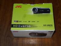 Open Box - JVC Everio GZ-HM35 GZ-HM35BU HD Camcorder - BLACK - 046838066658