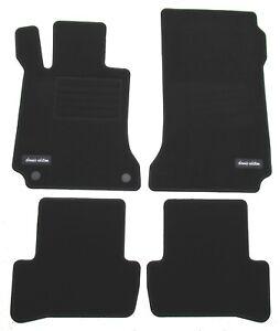 Fußmatten Auto Autoteppich Velours Set passend Mercedes-Benz CL203 Sportcoupe