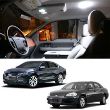 8x White LED Lights bulbs Interior Package Deal For Chevy impala 2006-2013 L314W