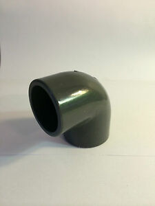 25mm 90 DEGREE ELBOW CONNECTOR SOLVENT WELD PVC U MARINE SUMP REEF CORAL SAFE